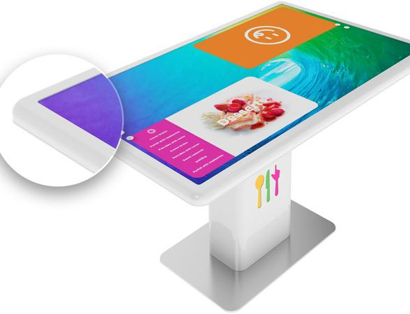 IoT based digital restaurant table