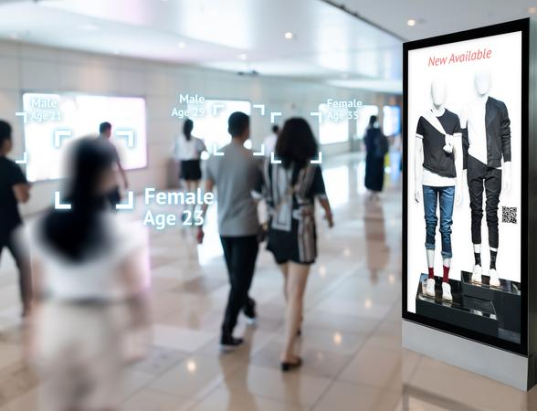 AI detection at retail store