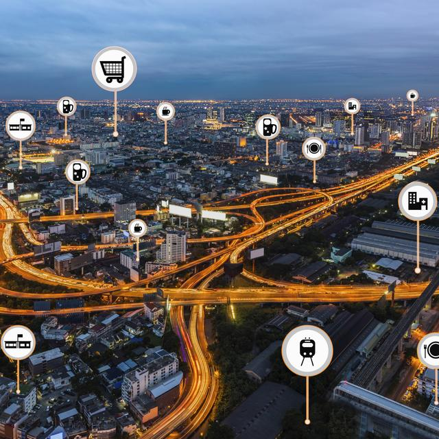 Smart, connected city infrastructure